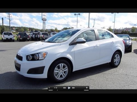 2012 Chevrolet Sonic LT Start Up, Engine, and In Depth Tour