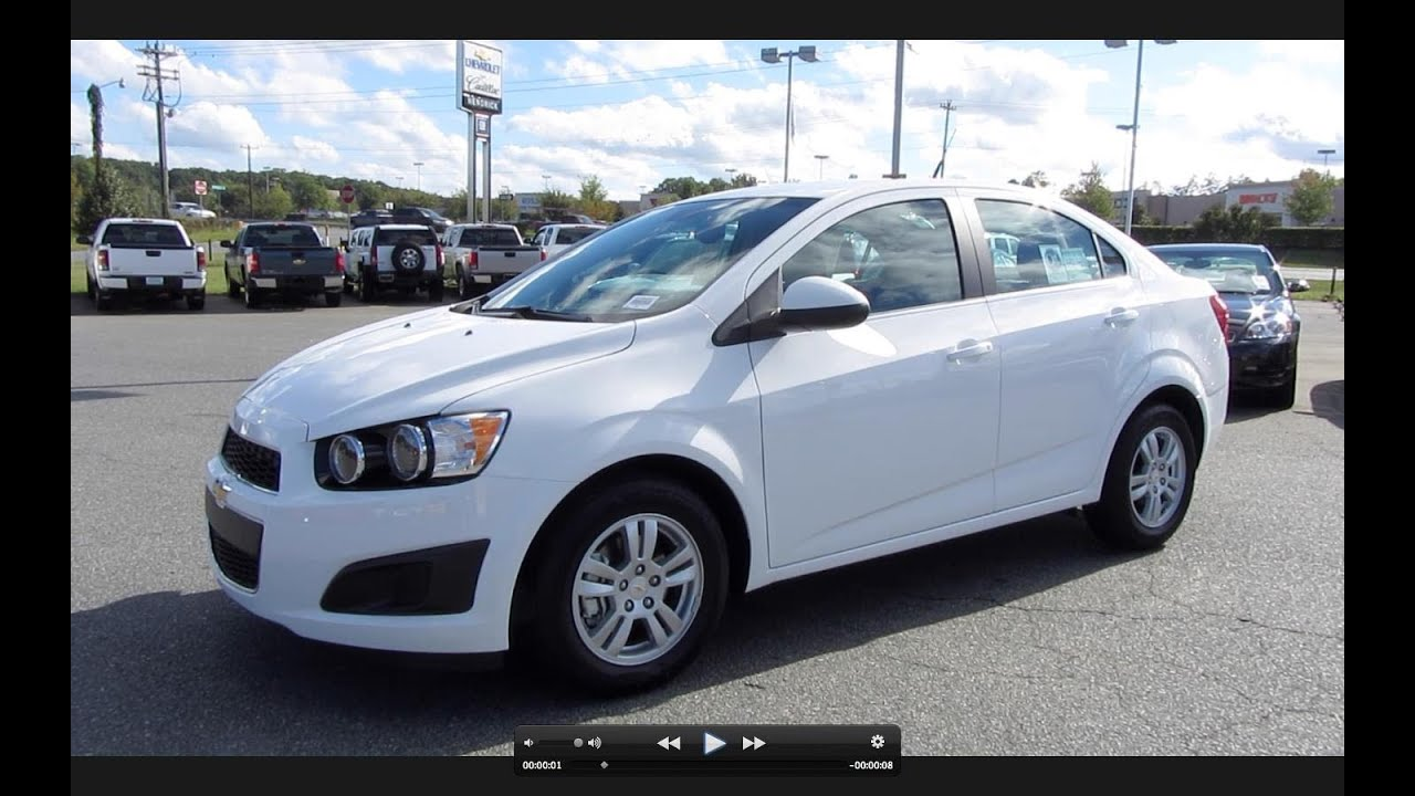 2012 chevrolet sonic lt start up engine and in depth tour [ 1280 x 720 Pixel ]