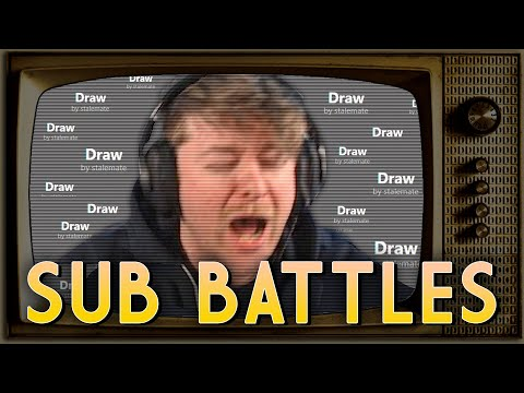 1000's STALEMATING EVERY GAME | SUB BATTLES