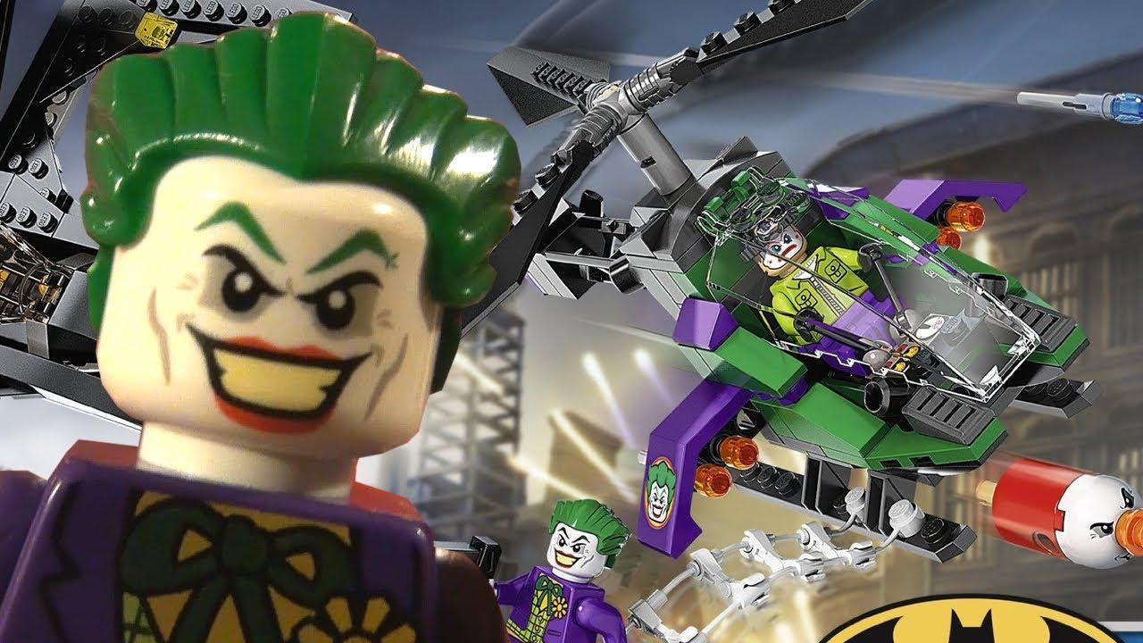 Lego Joker Helicopter Timelapse - YouTube