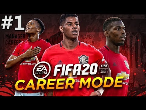 THE REBUILD BEGINS | FIFA 20 Manchester United Career Mode EP1