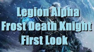 Bajheera - FROST DK Artifact Quests, Class Hall, & Gameplay! - WoW Legion Alpha