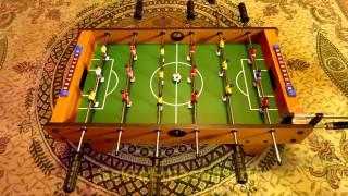 видео Игровой стол - футбол Standart