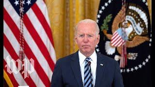 SEE LIVE Psaki takes concerns after Biden's address on Kabul airport attacks    NewsBurrow thumbnail
