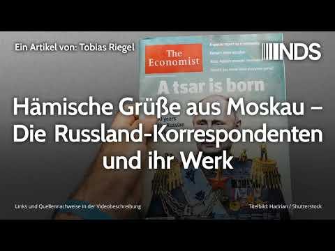 Hämische Grüße aus Moskau – Die Russland-Korrespondenten und ihr Werk | Tobias Riegel