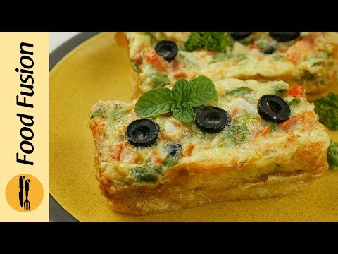 How to make Baked Egg - Food Fusion