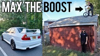 Max Boost on the Evo + BMX with Rudnik