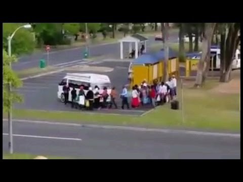 Extreme taxi loading (funny)