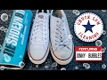 The BEST WAY to Clean White Converse's