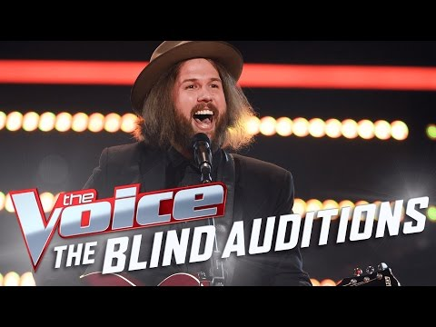 Andy Walton performs 'I Believe In A Thing Called Love' | The Voice Australia 2017