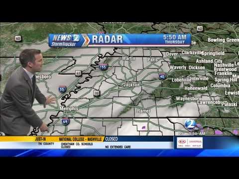 March 5, 2015 Snow Coverage (WKRN Nashville)