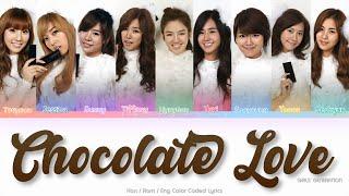 Girls' Generation (소녀시대) Chocolate Love Color Coded Lyrics (…