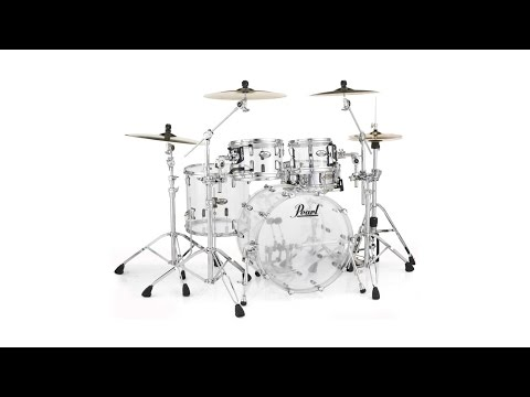 Pearl Crystal Beat 4-piece Shell Pack & Pearl HWP-930 Hardware Package Review by Sweetwater