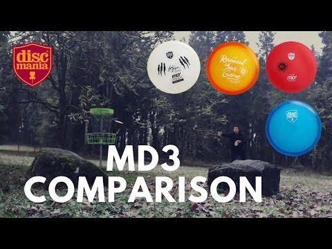 Discmania MD3 Comparison