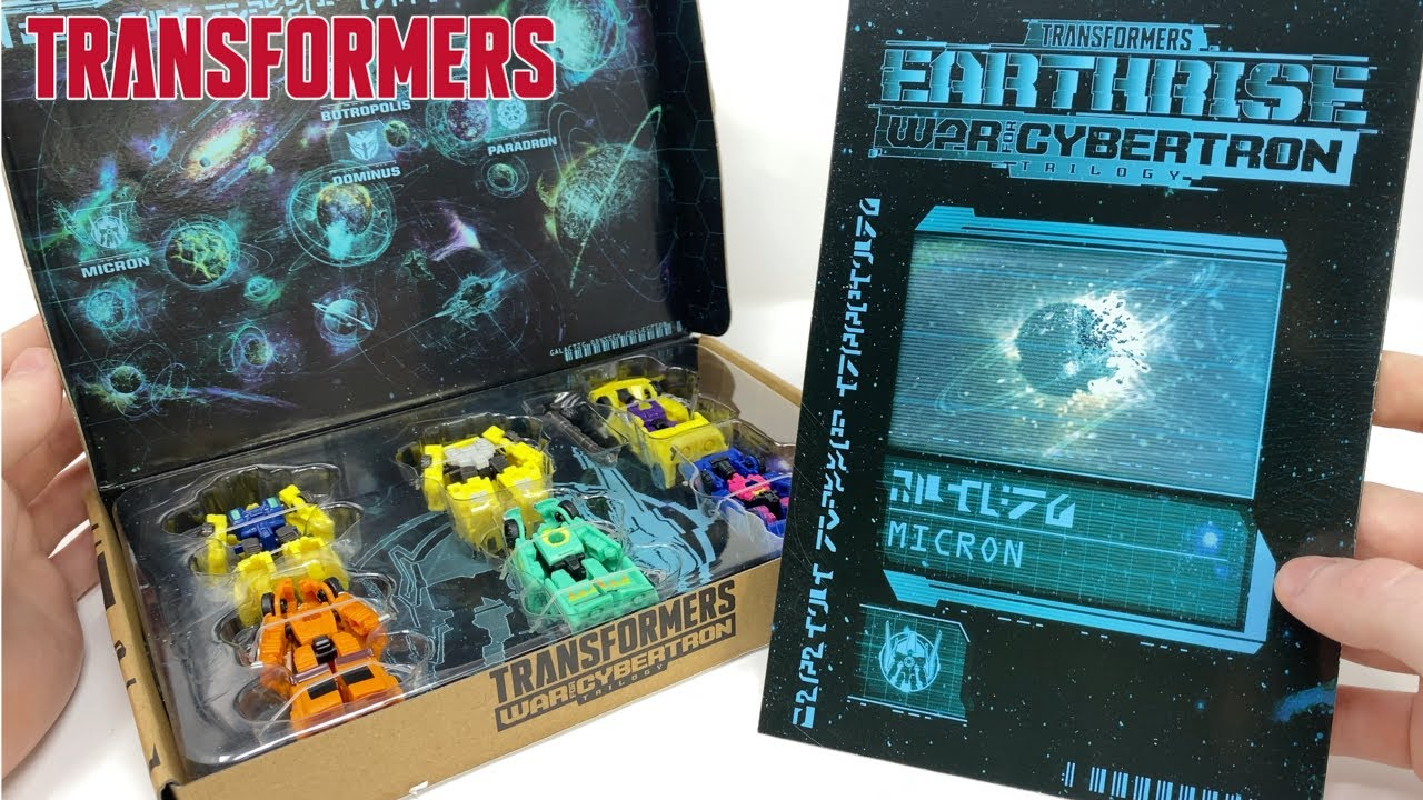 Transformers Earthrise Galactic Odyssey Micron Micromasters In-Hand Review by PrimeVsPrime