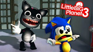 Cartoon Cat Catches Sonic - The Abandoned Place - LittleBigPlanet 3 | EpicLBPTime