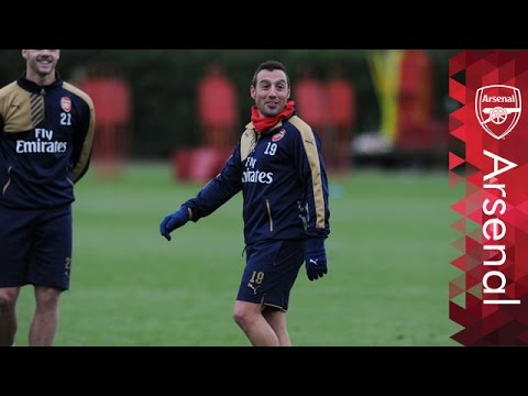Santi Cazorla: 'Basketball is not for me!'