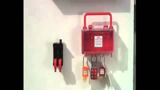 Lockout and Tagout   Group Lock Boxes