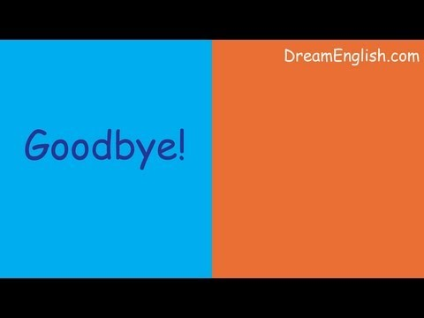 Easy Goodbye Song For Children