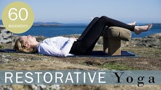 Restorative Yoga for When You Are Exhausted and Tired   Yoga with Melissa 454