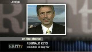 GRITtv: Reginald Keys Explains the Chilcott Inquiry