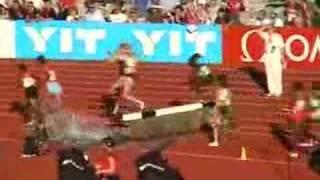 3000 Steeplechase woman. Oslo Golden League