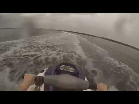 PANAMA CITY BEACH STORM ON JET SKI