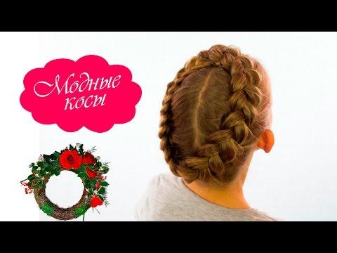 Коса венок|простая детская прическа/Kos wreath | simple childrens hairstyle