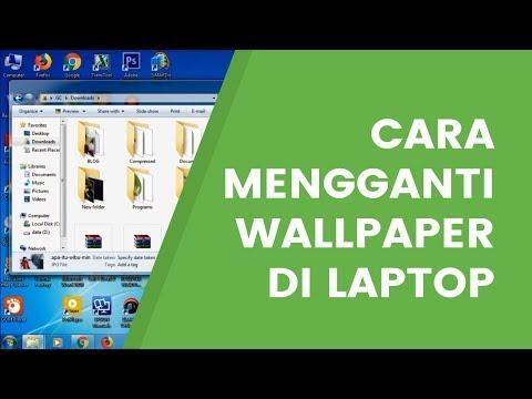 Cara Mengganti Wallpaper Di Laptop Paling Mudah Youtube