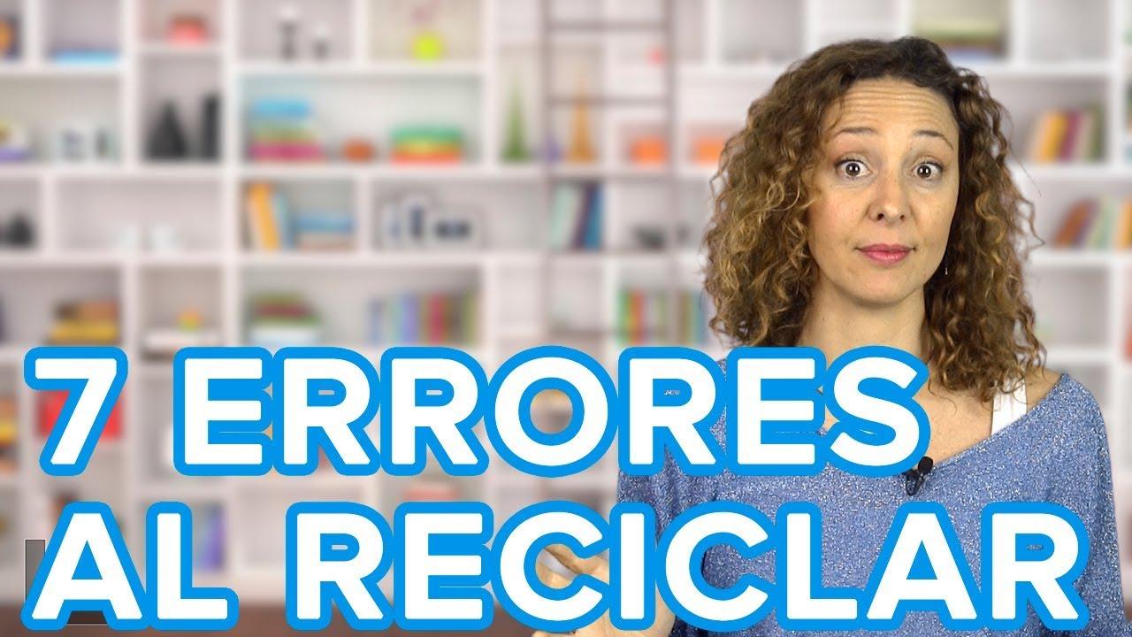 7 errores imperdonables a la hora de reciclar | Trucos de madre para enseñar a los niños a reciclar