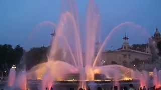 Поющие фонтаны в Барселоне.(, 2012-03-23T19:30:32.000Z)