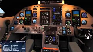 X PLANE - Cold and dark Pilatus PC 12 (LFKJ)