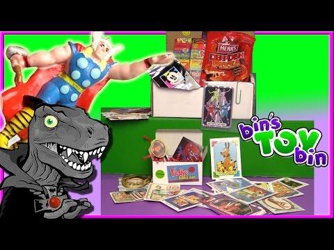 THOR & MORE! | Dinosaur Dracula Fun Pack Unboxing - April 2017 | Bin