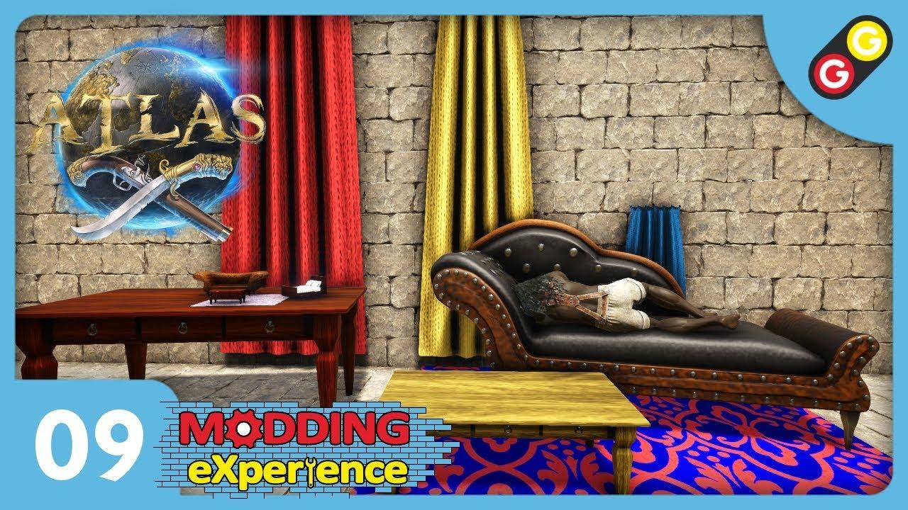 ATLAS - Modding eXperience #09 Paintable Atlas Furniture [FR]