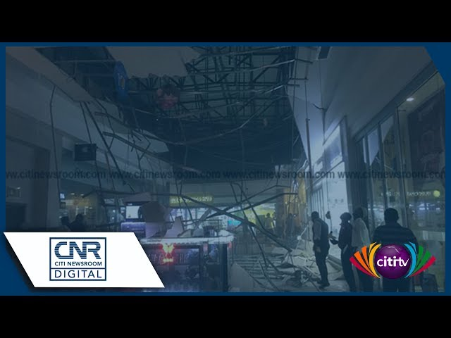 Part of Accra Mall ceiling collapses, at least two injured