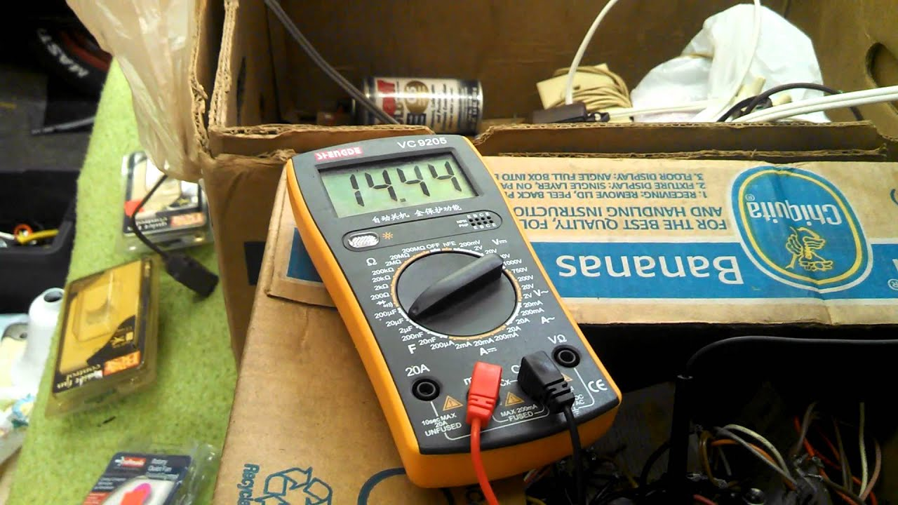 Check Ac Capacitor With Multimeter : Test ceiling fan capacitor multimeter