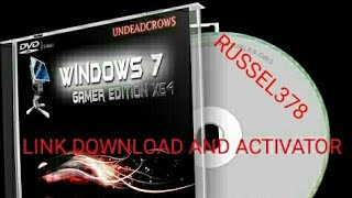 Windows 7 Gamer Edition x64 by UNDEADCROWS (REVIEW)