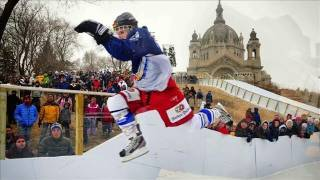 Ice Hockey + Motorcross = Ice Cross (a Report from Minnesota)