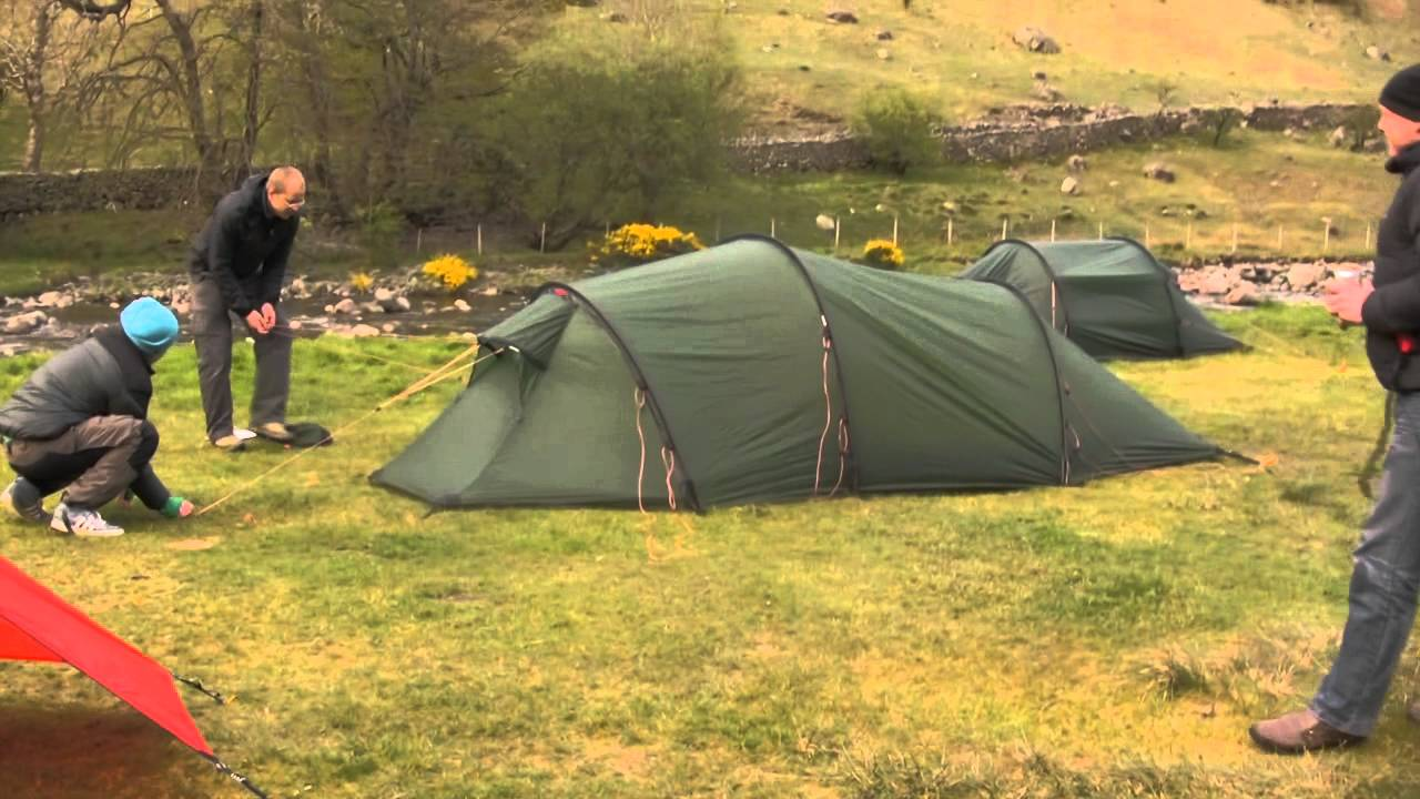 & Camping With Hilleberg - YouTube