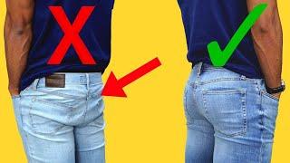 видео Мужские джинсы Loose fit