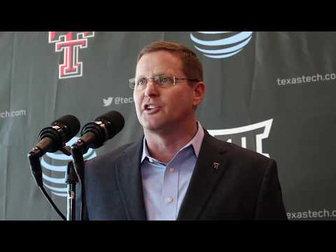Kirby Hocutt on the Future of Texas Tech Football After Kliff Kingsbury
