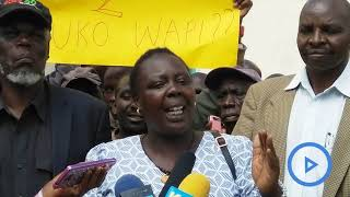 Farmers in the North Rift want the Agriculture CS Mwangi Kiunjuri impeached