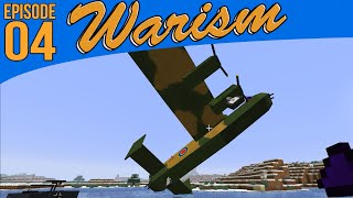 Minecraft Warism: Modded War Survival - Pilot Lessons #4