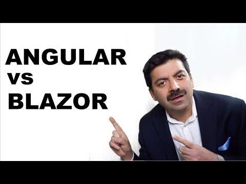 Angular vs Microsoft Blazor - YouTube