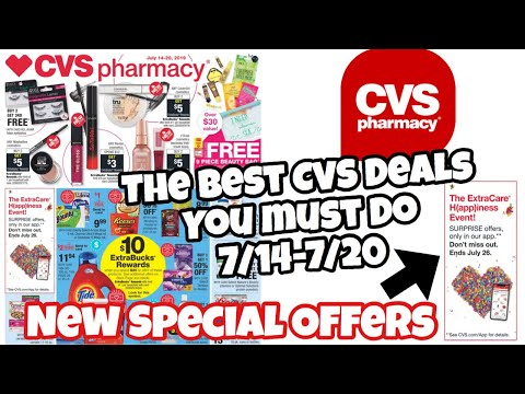 The CVS Deals Of Week: You Must Do 7/14-7/20 #cvsdeals #cvscouponers #cvscouponing