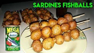 SARDINES FISHBALLS RECIPE | Sardinas balls | Trending fishballs | Lockdown Food |Quarantine food