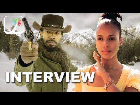 Django Unchained: Jamie Foxx, Kerry Washington and Samuel L. Jackson Exclsuive Interview