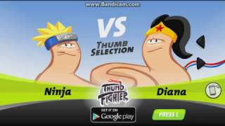 Thumb Fighter|Peleas Legendarias de pulgares