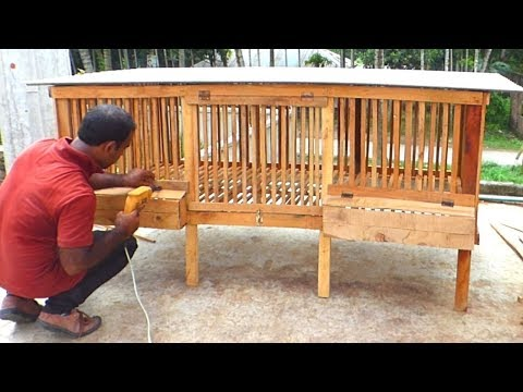 How to Build a Chicken Coop | Make Wooden Chicken Cage
