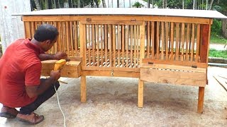 How to Build a Chicken Coop   Make Wooden Chicken Cage